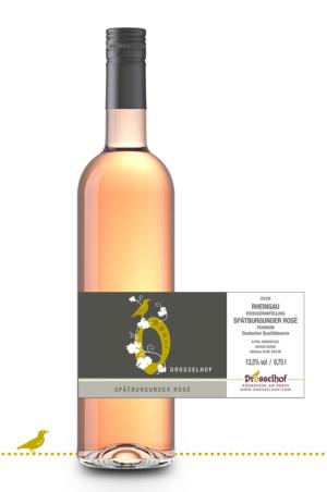 2020 Rheingau Spätburgunder Rosé, feinherb